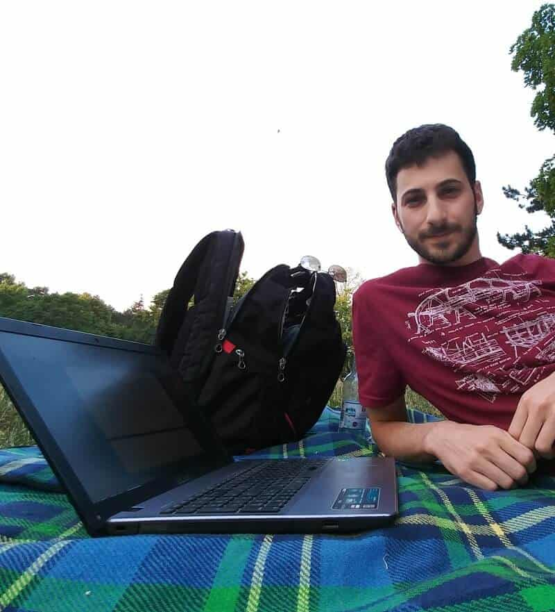 Working in the Park