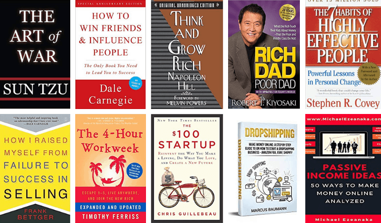 The business books for dropshipping and eCommerce
