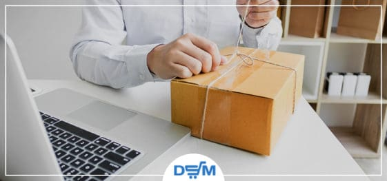 Dropship with custom packaging