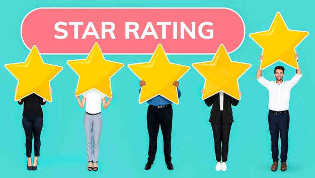 persons with star rating