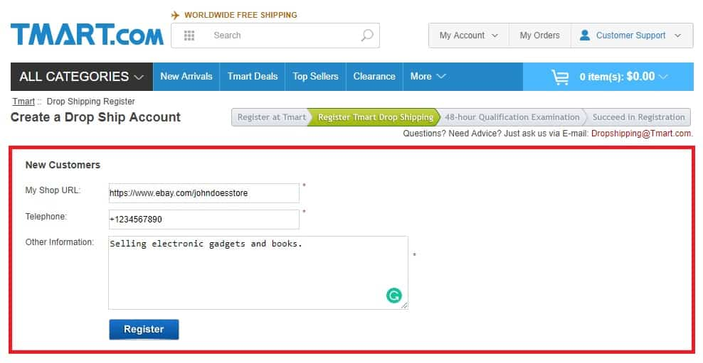 How To Find Dropshipping Suppliers Dropshiping From Tmart