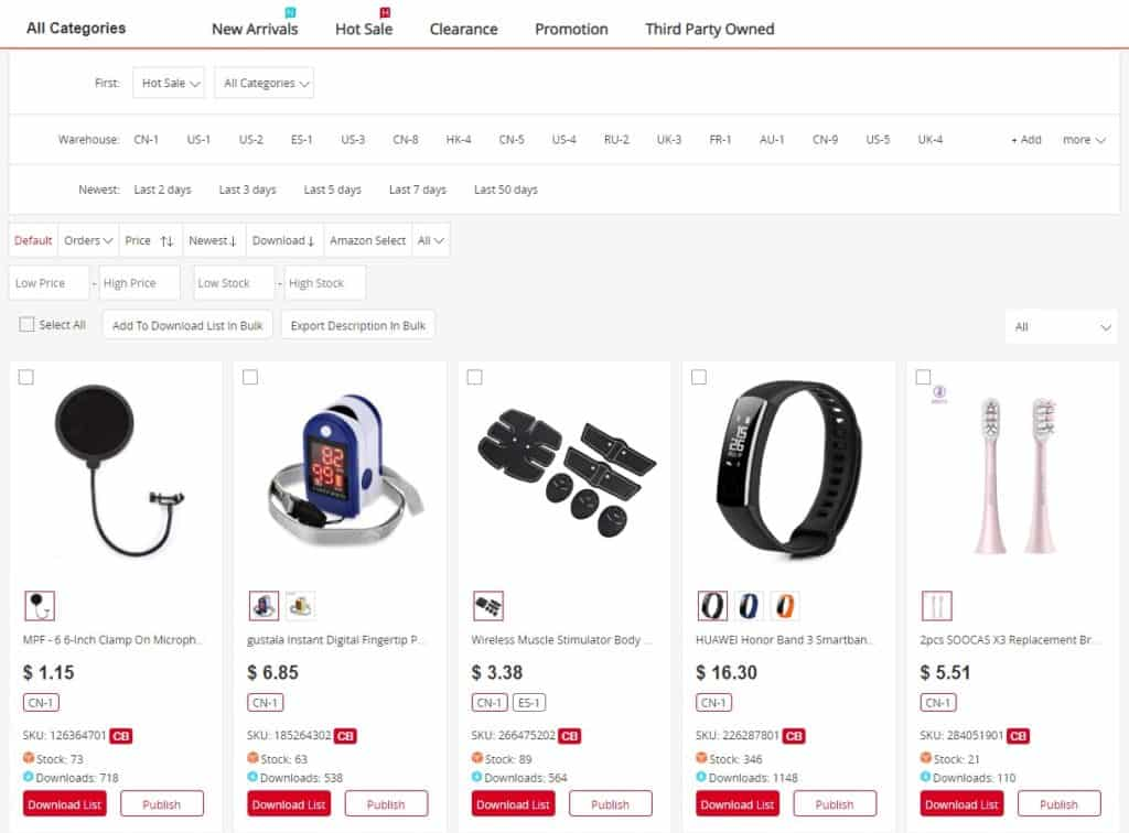 Chinabrands as a free dropshipping supplier
