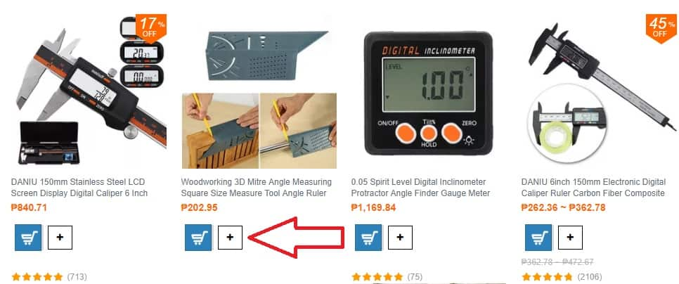 sourcing multiple items on eBay from Banggood with DSm Tool