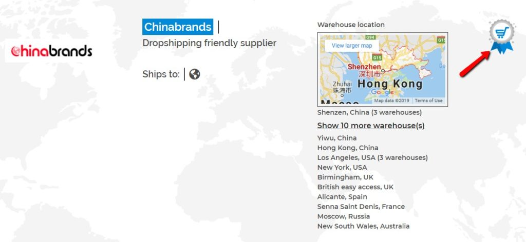 Chinabrands - one of the best wholesale suppliers.