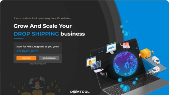 create dropshipping account with DSM Tool