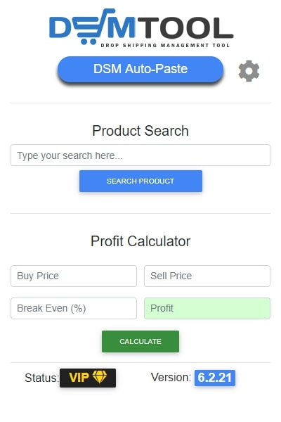 DSM Tool extension for dropshipping product search