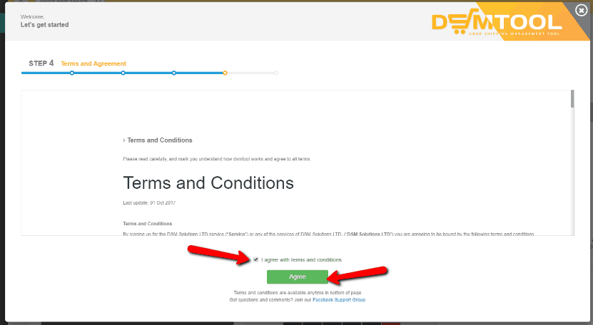 DSM Tool Terms and Conditions