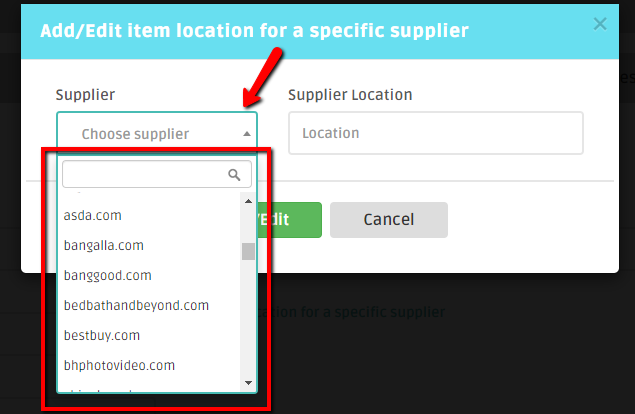 DSM Tool supported suppliers in dropshipping suppliers setting