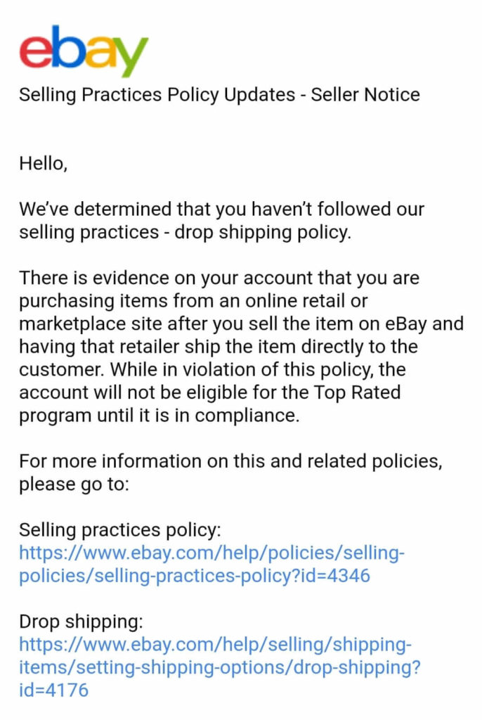 Ebay Dropshipping Policy Explained Is Dropshipping Legal In 2020