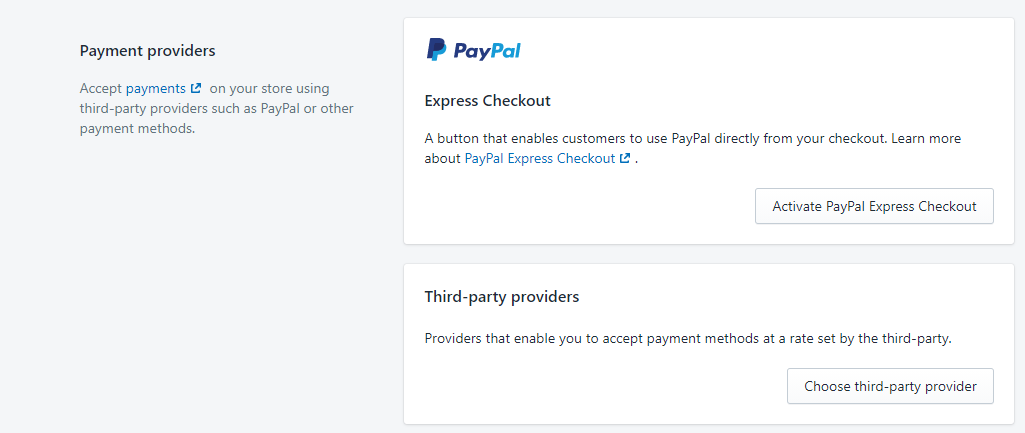 PayPal account for starting a Shopify dropshipping
