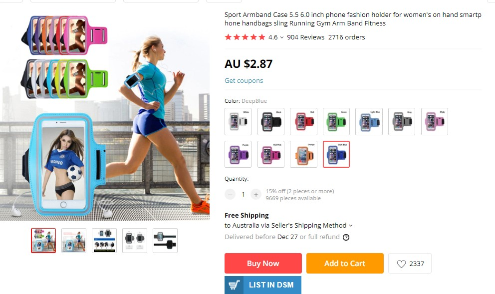 Dropshipping in eBay Australia from Aliexpress