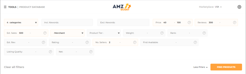 AmzScout tool