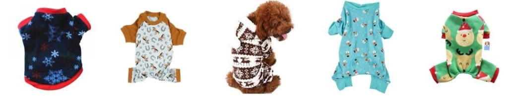 selling Christmas pets products example