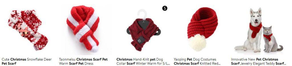 Best selling Christmas pets item examples