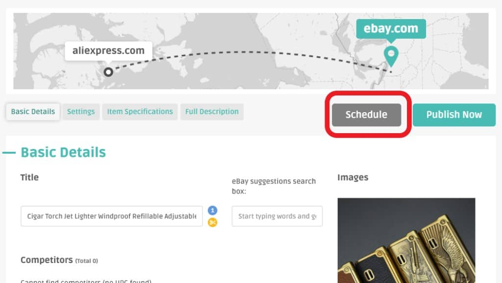 Constant listing as ongoing optimization of the dropshipping store