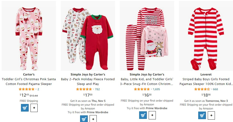 toddler sleeper as a product to sell on Christmas