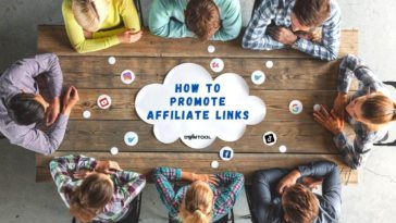 How to promote affiliate links