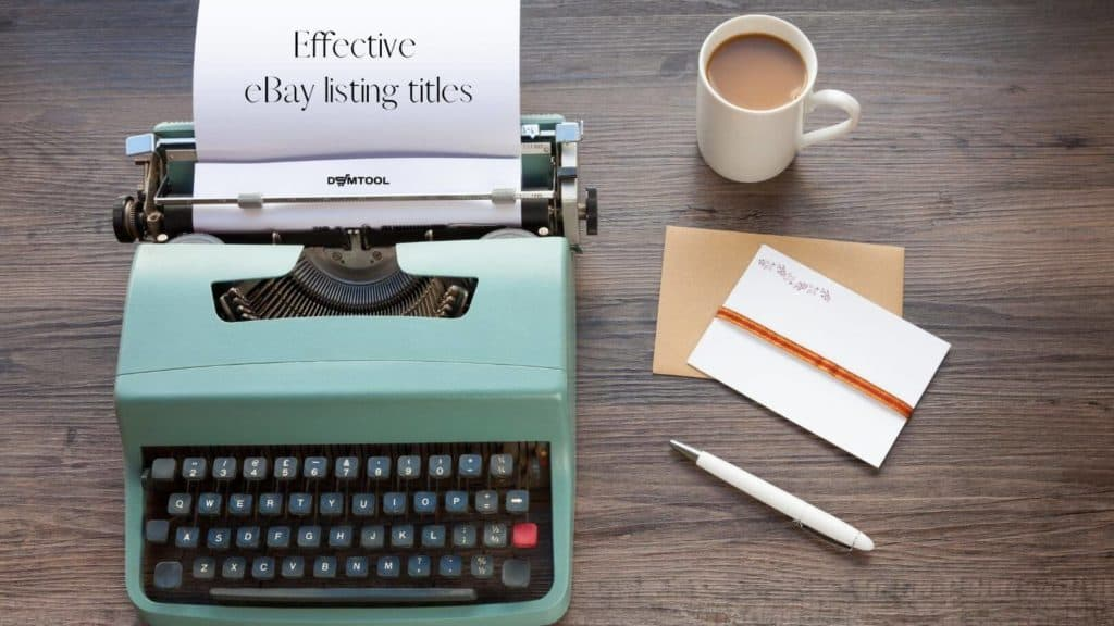 how to write effective eBay listing title