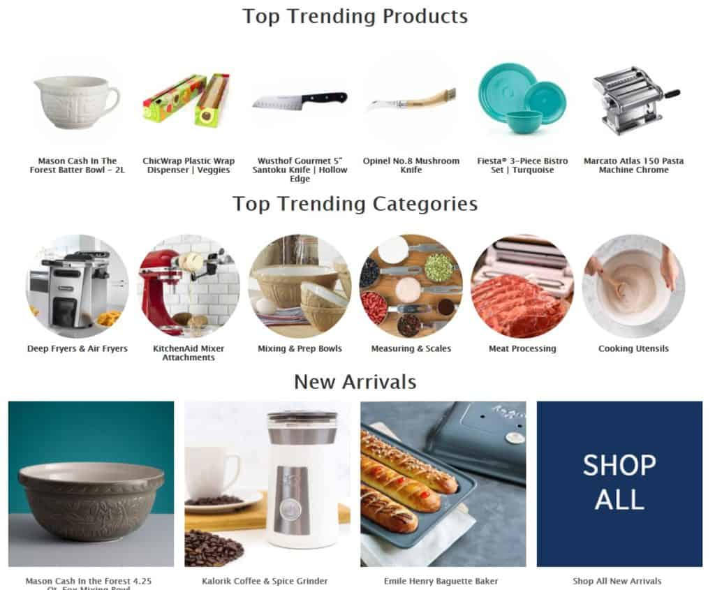 Everything Kitchens as a supplier for dropshipping