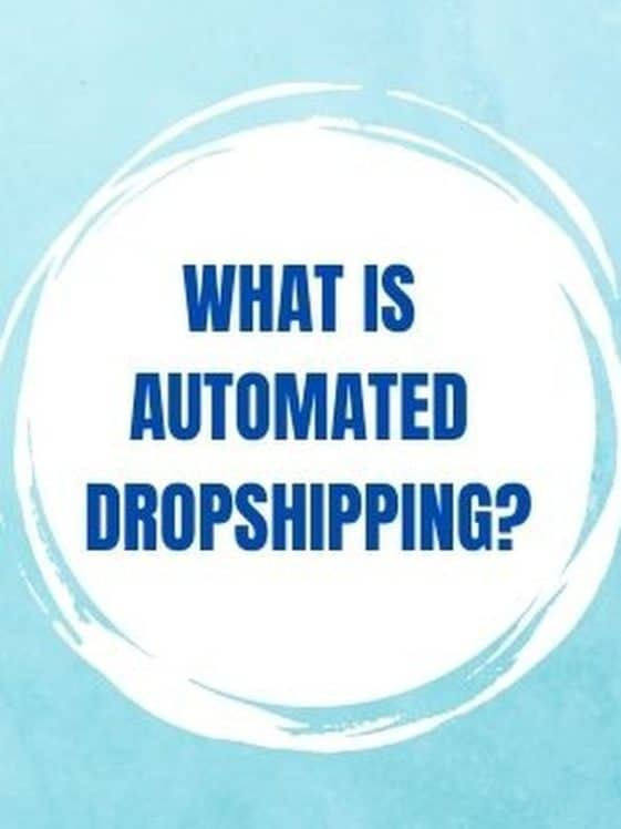 what is automated dropshipping