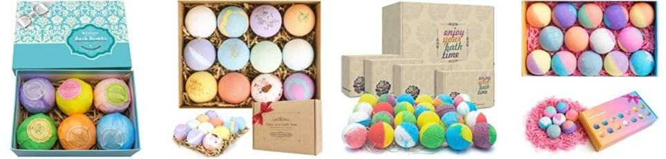 bath boms is as good Mother's Day gift idea