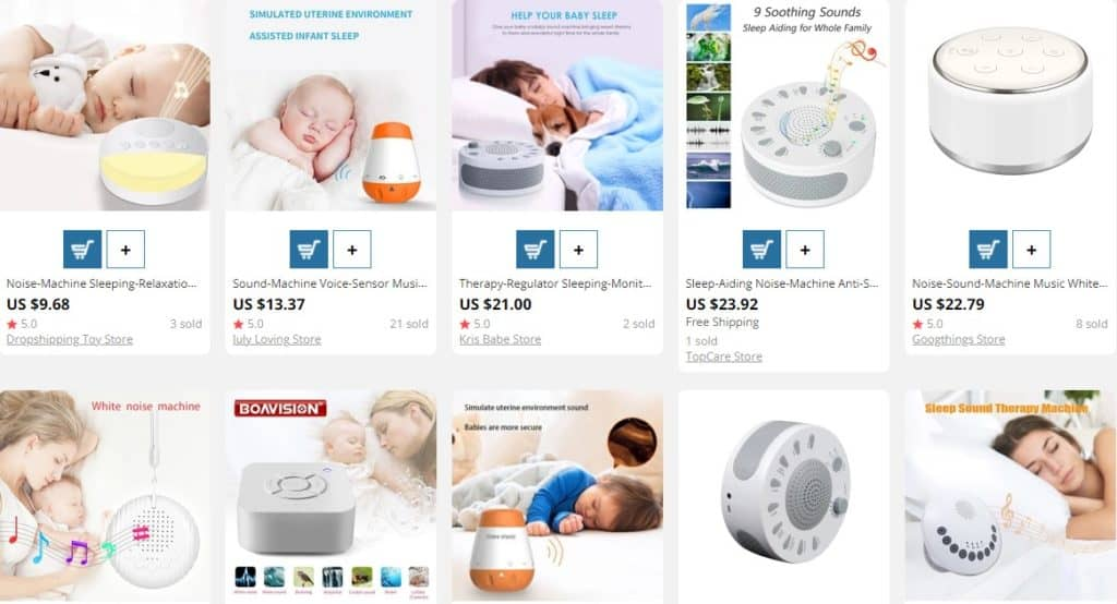 noise machine for sleeping as useful Mother's Day gift idea