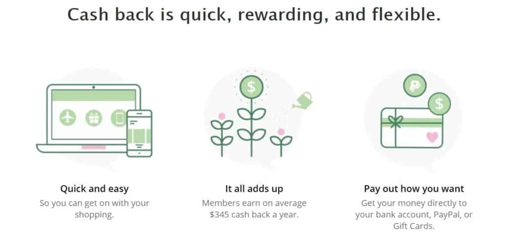 TopCashback as a popular cashback shopping site