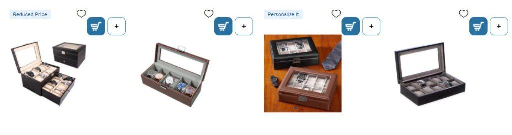 watch organizer as a product for dropshipping on Father´s Day