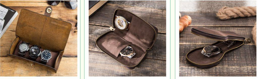 The watch box is a great Father's Day gift