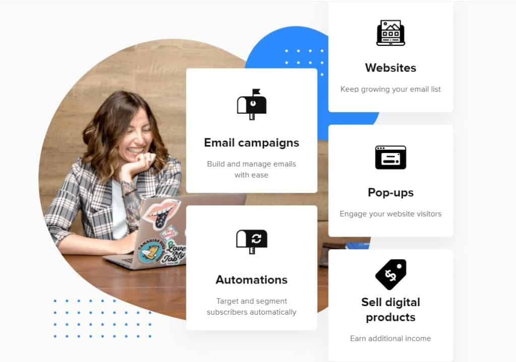 MailerLite for building a Shopify email marketing