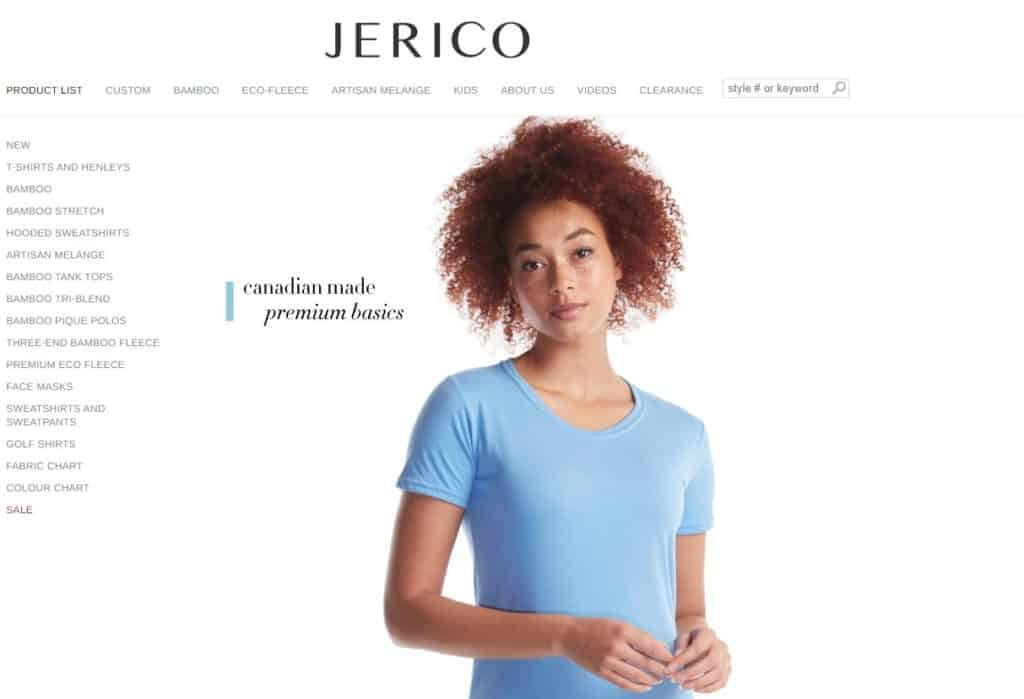Jerico is a Canada wholesale supplier