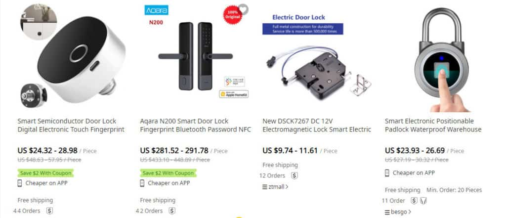 dropship security products on DHgate