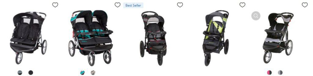 Examples of best selling baby items