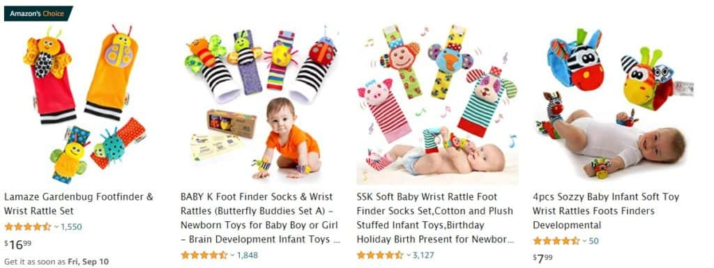 popular baby dropshipping products