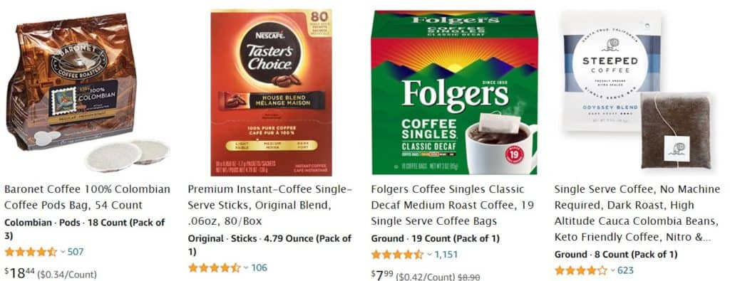 dropshipping coffee from amazon