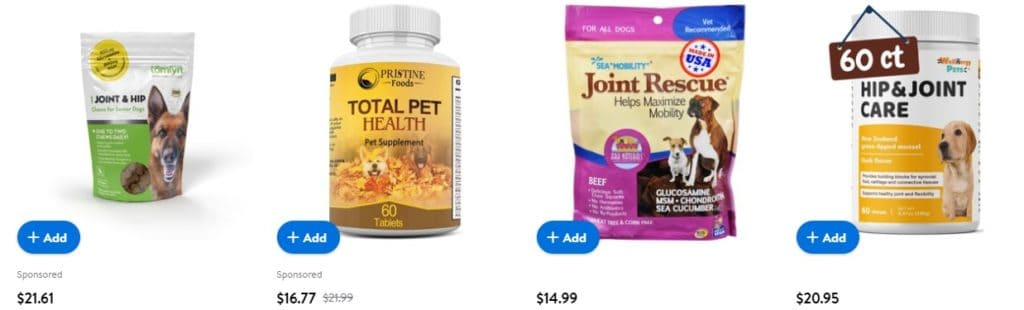 dropship pet products supplements