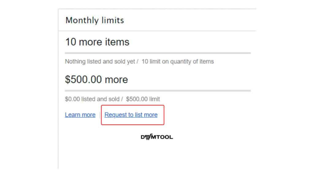 how to increase ebay selling limits